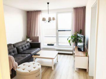 ELIMARK - PRENÁJOM luxusný 2 izb BYT s BALKÓNOM a garážovým státím, 45 m2, Malokrasňanská ul. - RAČA