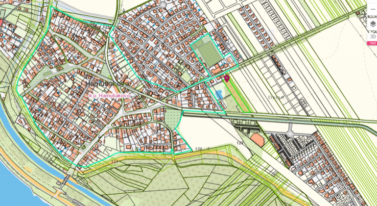 Pozemok na výstavbu rodinných domov v Hamuliakove na predaj