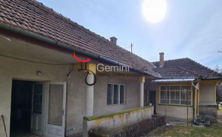 GEMINIBROKER v obci Kishuta ponúka rodinný dom na peknom slnečnom pozemku