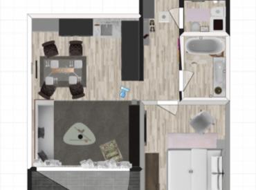 Moderný 2-izbový byt v Pezinku