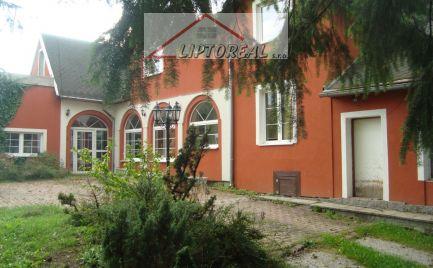 Rodinný dom  v obci Slovenské Pravno,10 km od kúpeľného mesta Turčianske Teplice