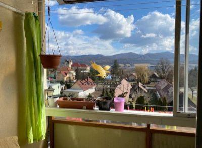 Slnečný kompletne prerobený 3 izbový byt s krásnym výhľadom