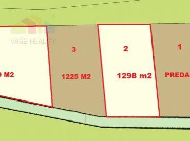 Stavebný pozemok 1298 m2 Stará Turá - Trávniky