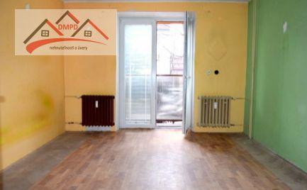 DMPD real Vám ponúka na predaj  2-izbový byt v meste Nováky.