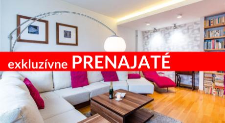 EXKLUZÍVNE PRENÁJOM Nadštandardný 3-izbový byt priamo v centre Ružomberka