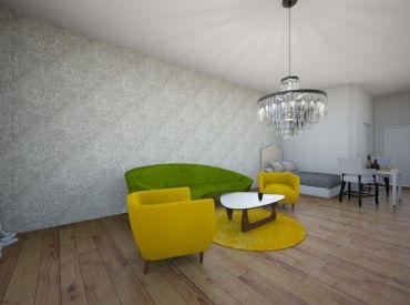 Moderný 1-izbový byt v štandarde, Dona Santnera