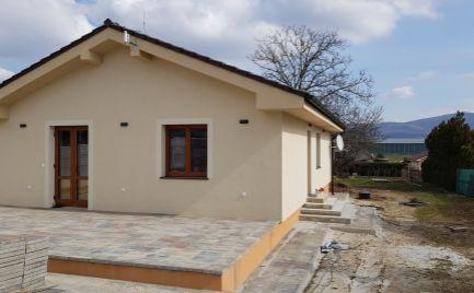 Predám nový 4 izb.RD v Lužiankach pri Nitre s veľkým pozemkom 1200m2.