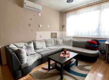 Predaj zariadený 3 izbový byt, balkón, Klokočina