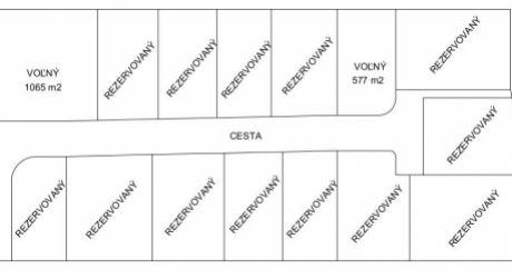 Na predaj stavebné pozemky 541 m2 a 1065 m2, Melčice-Lieskové