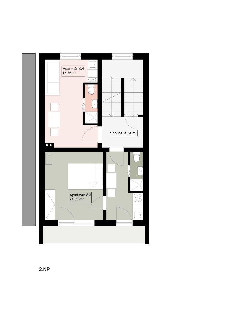 Na predaj apartmánový dom, 6 apartmánov, Veľký Slavkov - 29
