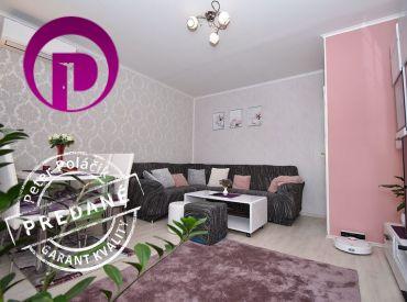 REZERVOVANÉ:2i byt, 57 m2 – Pezinok:  kompletná rekonštrukcia, presklená loggia, pivnica, samostatná kuchyňa, klimatizácia
