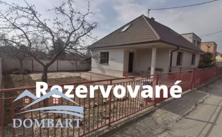 Exkluzívny predaj Rodinného Domu v obci Beckov