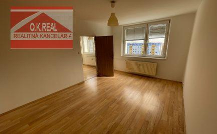 Ponúkame na prenájom 2- izbový byt s balkónom na Rezedovej ulici v Ružinove.