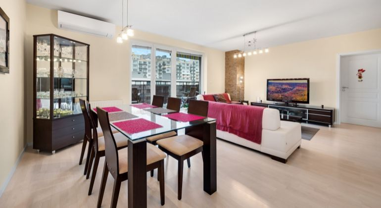 Krásny a priestranný 3 izbový byt s terasou a garážovým státím na Majerníkovej ulici