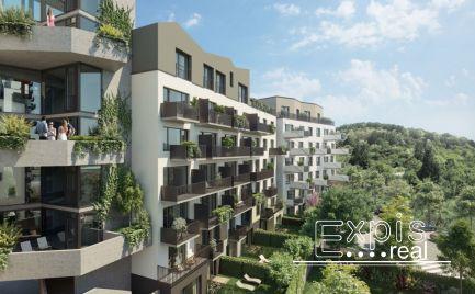 PREDAJ Moderný 1.izbový byt s predzáhradkou a parkovaním v novostavbe Čerešne, Dúbravka, EXPISREAL