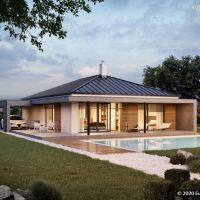 Rodinný dom, Hrubá Borša, 105 m², Novostavba