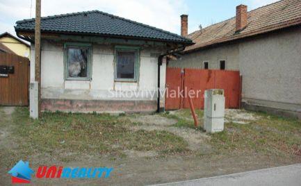 CHYNORANY - Rodinný dom / započatá rekonštrukcia / NOVÁ STRECHA
