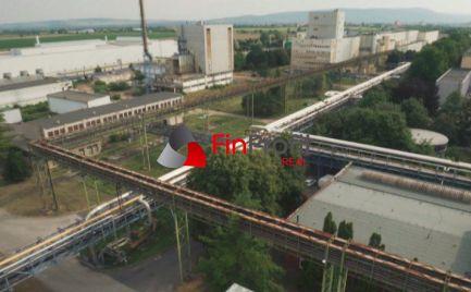 Na predaj priemyselný pozemok a  výrobné priestory  Štúrovo !