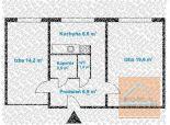 2 izb. byt, OSUSKÉHO ul, ideálny aj na prenájom