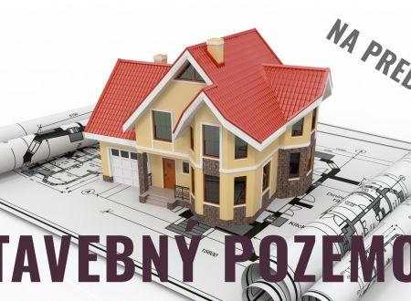 Stavebný pozemok (873 m2) Banka pri Piešťanoch