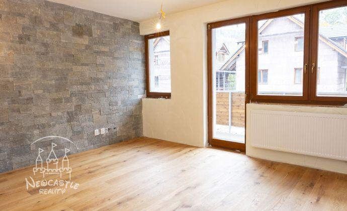 Na preda j- nový, skolaudovaný 3 izbový byt s balkónom krásnom prostredí (62,14 m2)