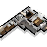3 izbový byt, Bratislava-Ružinov, 83 m², Pôvodný stav