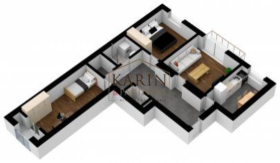 REZEREVOVANÝ !!!      Výborný 3 izb. byt s 2 loggiami - vyhľadávaná lokalita - tehla - BA Nivy- MILETIČOVA ul.
