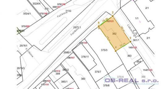 Predaj stavebného pozemku 479m2 v centre mesta Sládkovičovo