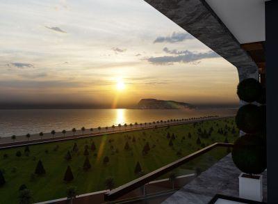 Nové apartmány pri mori v slnečnej Alányi (projekt č. 10)