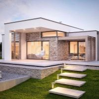 Rodinný dom, Pohranice, 123 m², Vo výstavbe