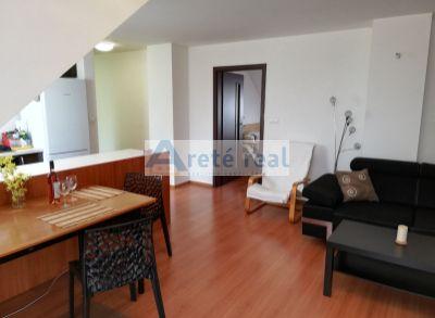 Areté real-prenájom pekného 2 izb.bytu priamo v CENTRE mesta Pezinok,zariadený,balkón,internet,KT.