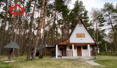 4 izbová rekreačná chata s garážou a saunou TOMKY