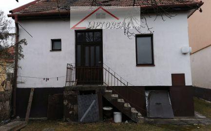 Pôvodný rodinný domček – Liptovská Ondrašová.