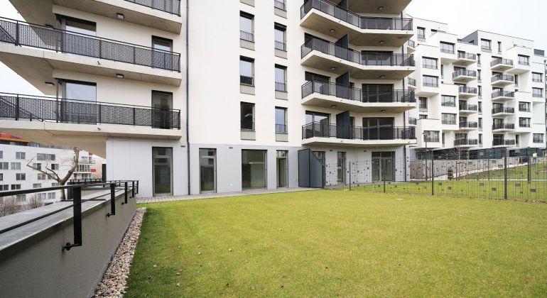 4 izbový byt s veľkou PREDZÁHRADKOU v projekte Cubicon