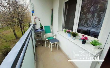 PRENÁJOM veľký 1 izbový byt s balkónom Ružinov Narcisová EXPIS REAL