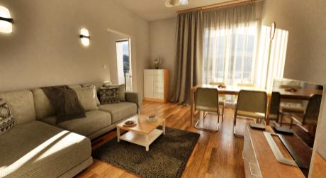 Predaj novostavby 2 izbového bytu v Detve