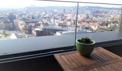 Krásny výhľad z luxusnej novostavby - 2IB SKY PARK Residence