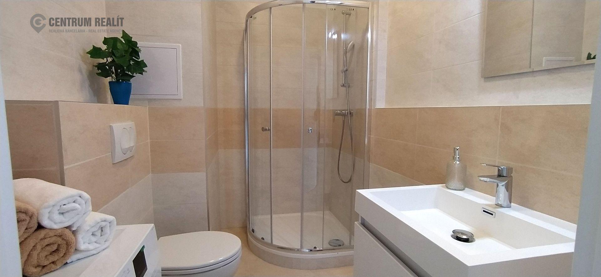 Nový priestranný 2 - izbový byt 57,5 m2 s integrovaným chladením, loggiou, parkovaním, Miloslavov