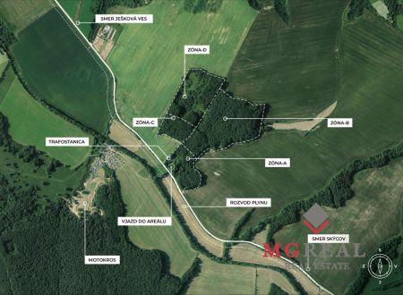 Investičný pozemok Ješková Ves - Projekt MALÁ DOLINA