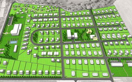 Stavebný pozemok v obci Hrádok