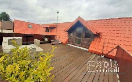 PRENÁJOM  3 izbový byt s veľkou terasou Ružinov Prievoz EXPIS REAL