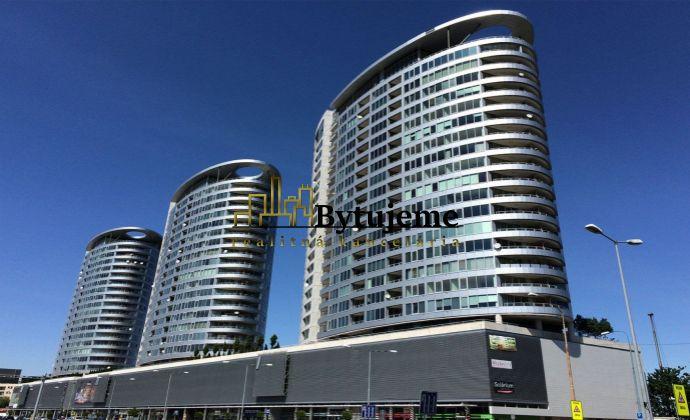 Zariadený 2i. byt s loggiou v komplexe III. Veže, BA - Nové Mesto