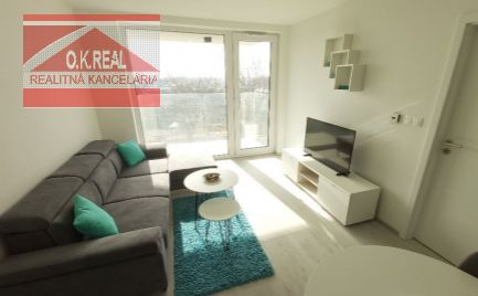 Ponúkame na prenájom nový a moderný 2-izb. byt s parkovacím státím v novostavbe v Petržalke v novostavbe Matadorka