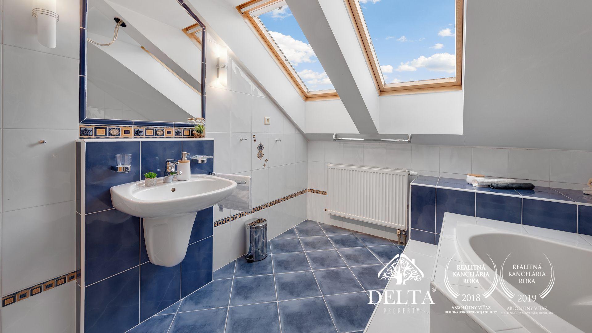 DELTA - REZERVOVANÝ | Slnečný 3,5 izbový mezonetový byt Miletičova, 138 m2
