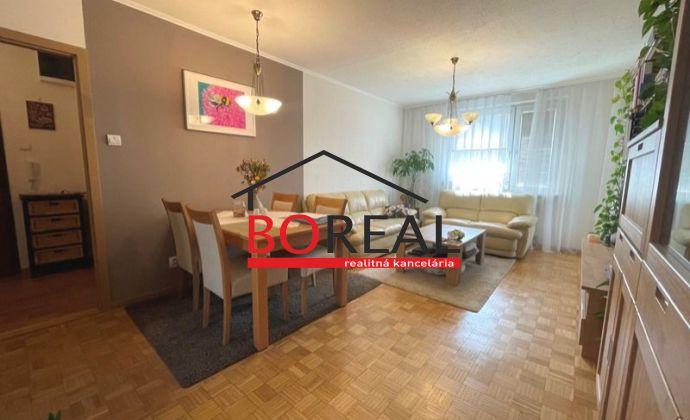 ** REZERVOVANÉ ** Zrekonštruovaný 3izb. byt s loggiou v širšom centre Bratislavy - Budyšínska ul.