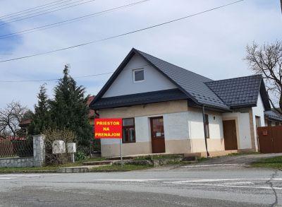 NA PRENÁJOM- Obchodné priestory v obci JOVSA