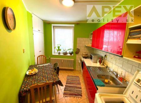 Exkluzívne iba u nás APEX reality 1i. byt na Hollého ulici, 34 m2, pivnica
