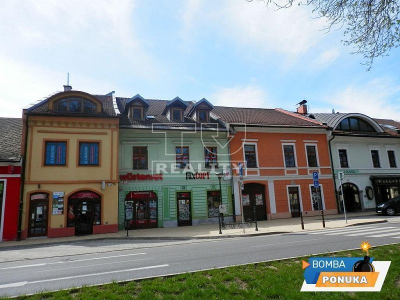 Na predaj mestský dom v centre mestá Spišská Nová Ves na Zimnej ulici, 773m2
