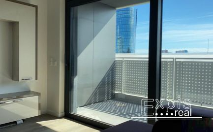 PRENÁJOM luxusný novozariadený 2 izbový byt v bytovom komplexe Tehelné pole, EXPISREAL