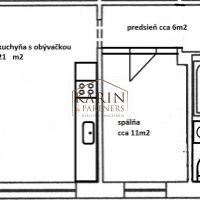 2 izbový byt, Bratislava-Ružinov, 45.15 m², Čiastočná rekonštrukcia
